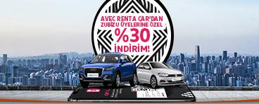 Avec`ten ZUBİZU Üyelerine %30 İndirim Fırsatı!