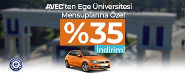 Ege Üniversitesi Mensuplarına Özel Kampanya