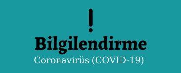 Korona (Kovid-19)Virüs Bilgilendirme!