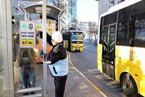 Otobüs Durağına Park Etme Cezası