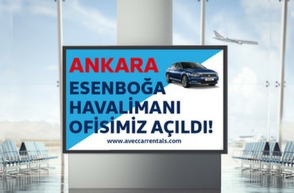 Our Office at Ankara Esenboga Airport is Opened